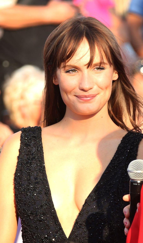 Ana Girardot lors de l'ouverture du 44e Festival de Deauville.