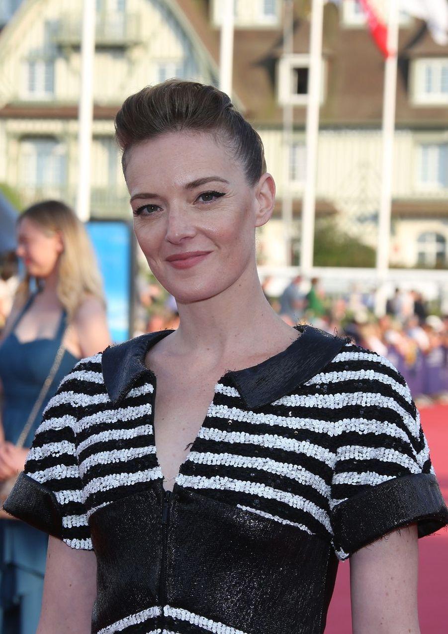 Kate Moran lors de l'ouverture du 44e Festival de Deauville.