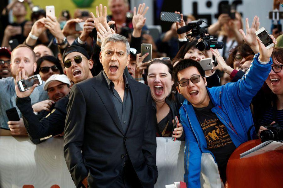 George Clooneyau Festival de Toronto