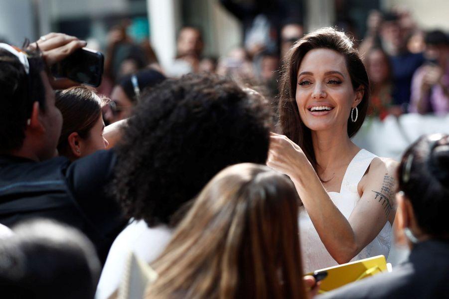 Angelina Jolieau Festival de Toronto
