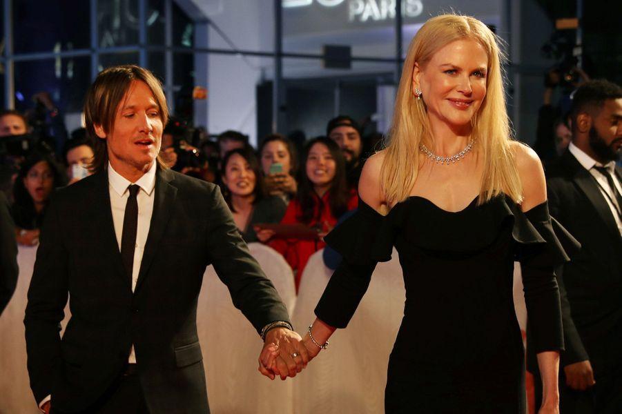 Nicole Kidman et Keith Urbanau Festival de Toronto