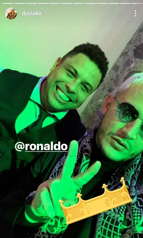 DJ Snake et Ronaldo