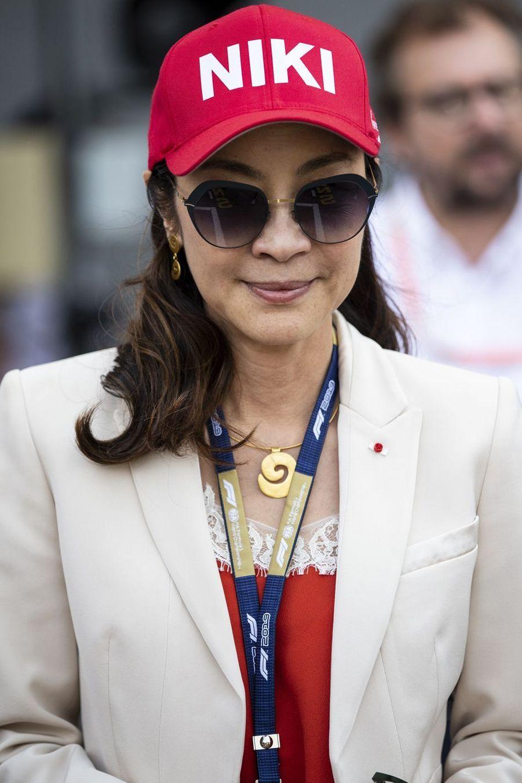 Michelle Yeoh au Grand Prix de Formule 1 de Monaco le 26 mai 2019