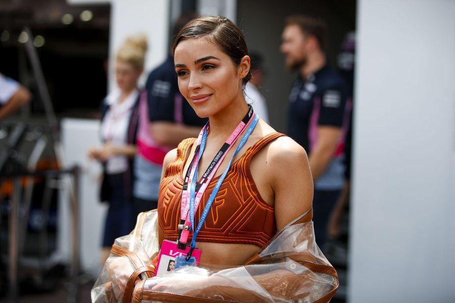 Olivia Culpoau e Grand Prix de Formule 1 de Monaco le 26 mai 2019