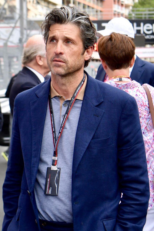 Patrick Dempsey au Grand Prix de Formule 1 de Monaco le 26 mai 2019