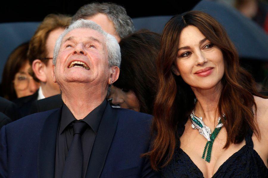Claude Lelouch et Monica Bellucci