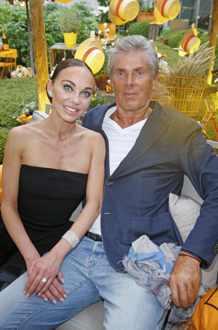 Alexandra Cardinale et Dominique Desseigne.