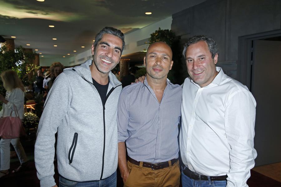 Ary Abittan, Eric Judor, Benjamin Patou.
