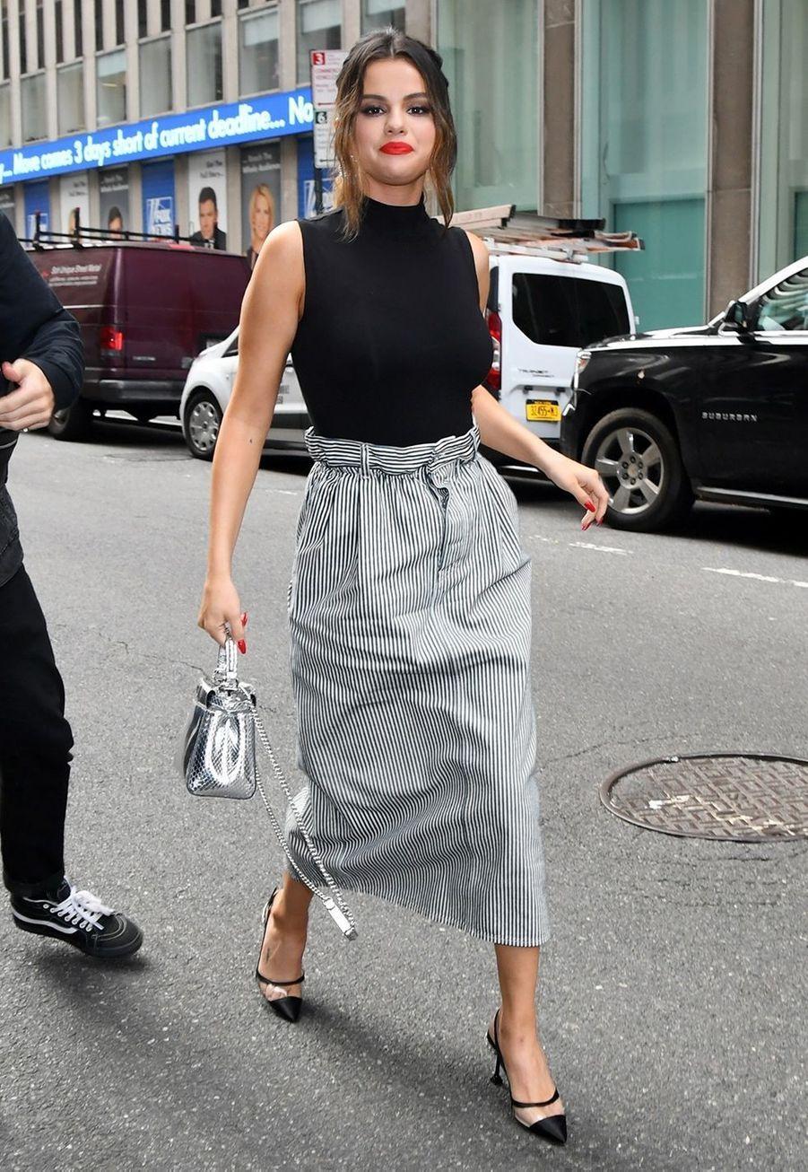 Selena Gomez à New York le 28 octobre 2019