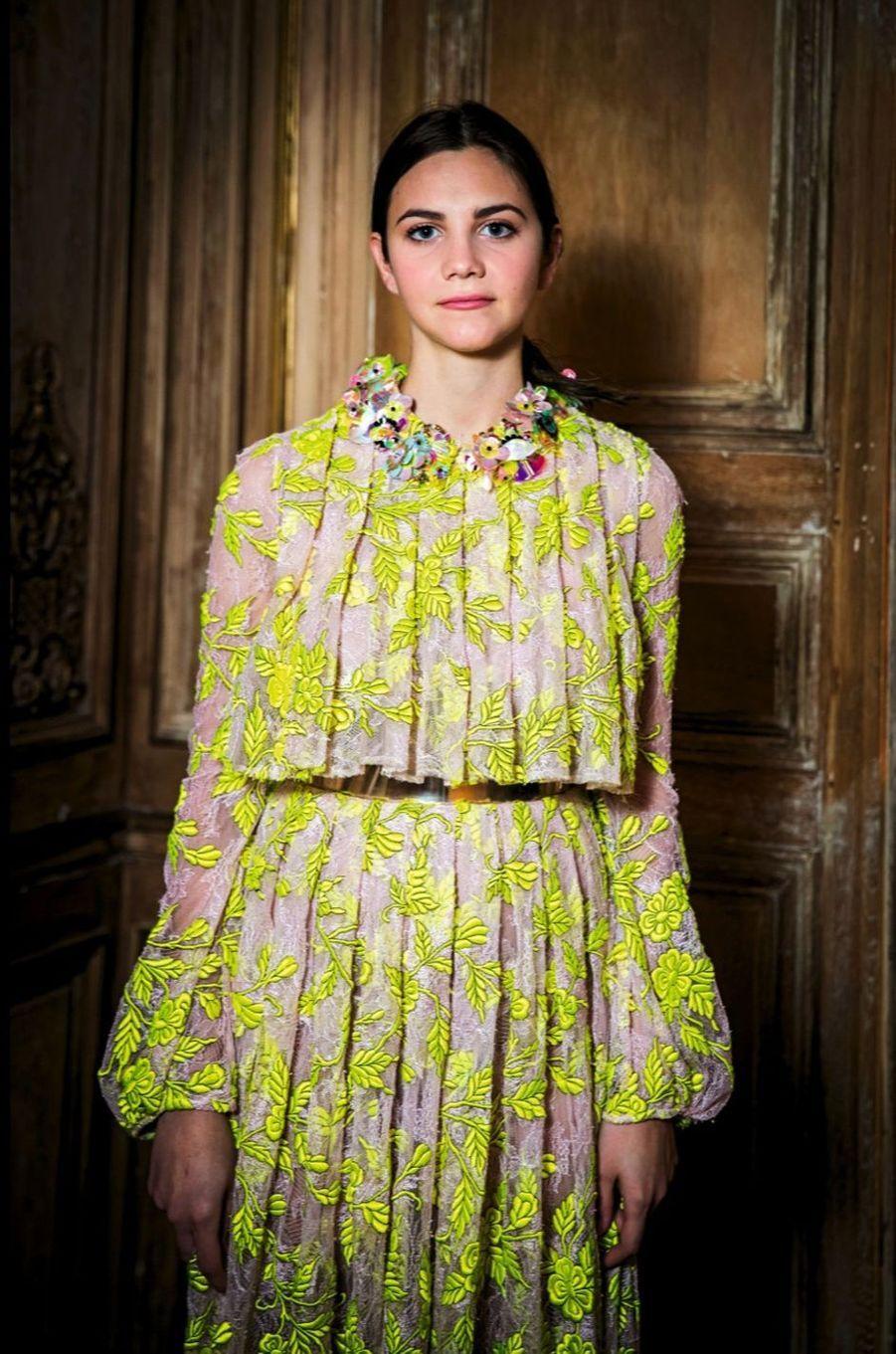 Maïa Twombly sera à la rétrospective de Cy Twombly, son grand-père, le 30 novembre au Centre Pompidou.