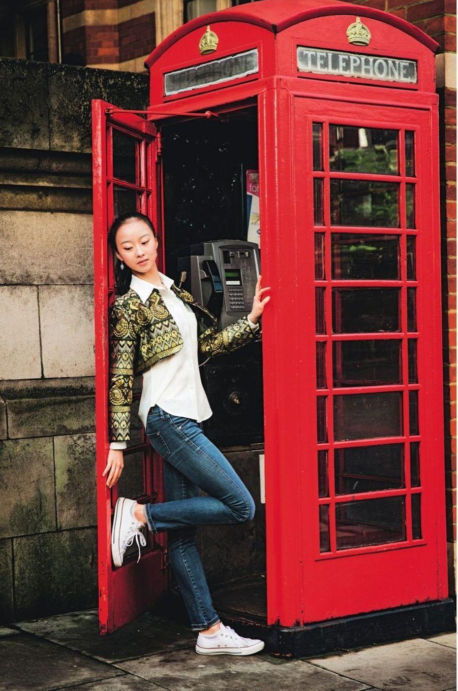 Yu Hang a décroché une place dans une grande école de ballet à Londres.