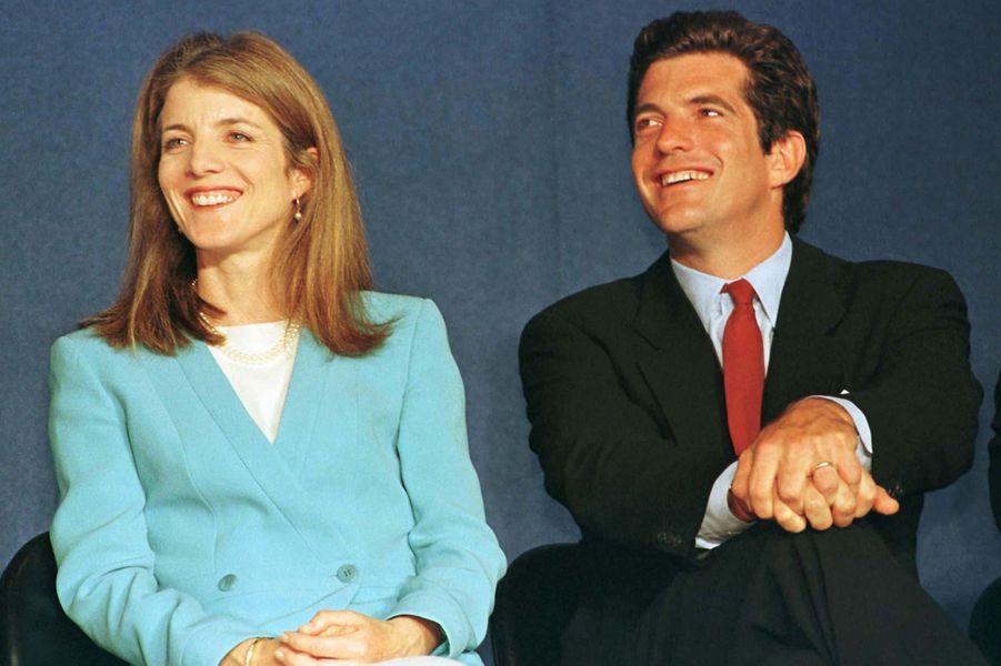 Caroline Kennedy et John F. Kennedy Jr. en mai 1997