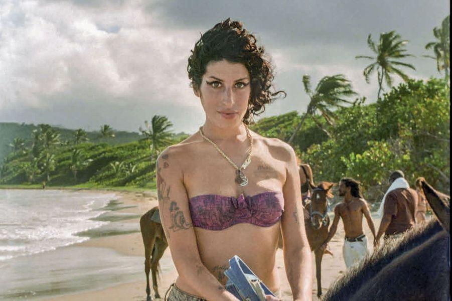 A cheval, sur la plage de Plantation : pour Amy, un incroyable sentiment de liberté.