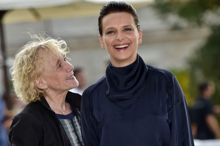 """Claire Denis et Juliette Binoche (""""Un beau soleil intérieur"""")"""