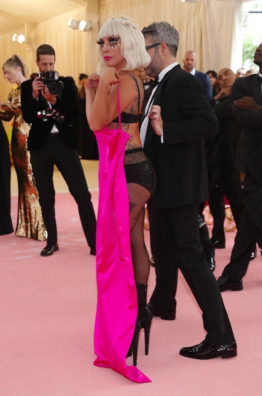 Lady Gaga au Gala du Met, le 6 mai 2019.