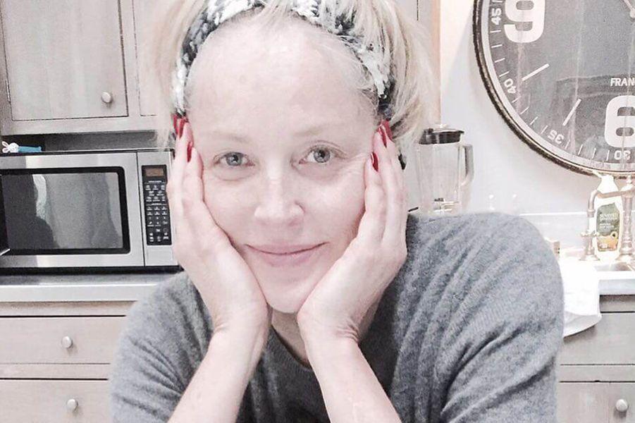 Sharon Stone, le 6 janvier 2016.