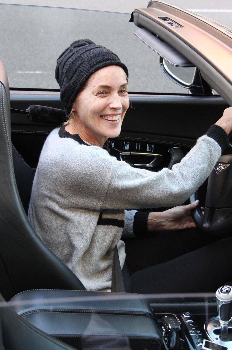 Sharon Stone, le 20 avril 2015 à Beverly Hills.