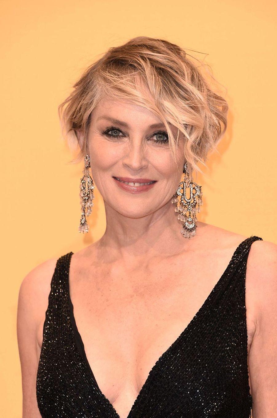 Sharon Stone, le 2 novembre 2016.