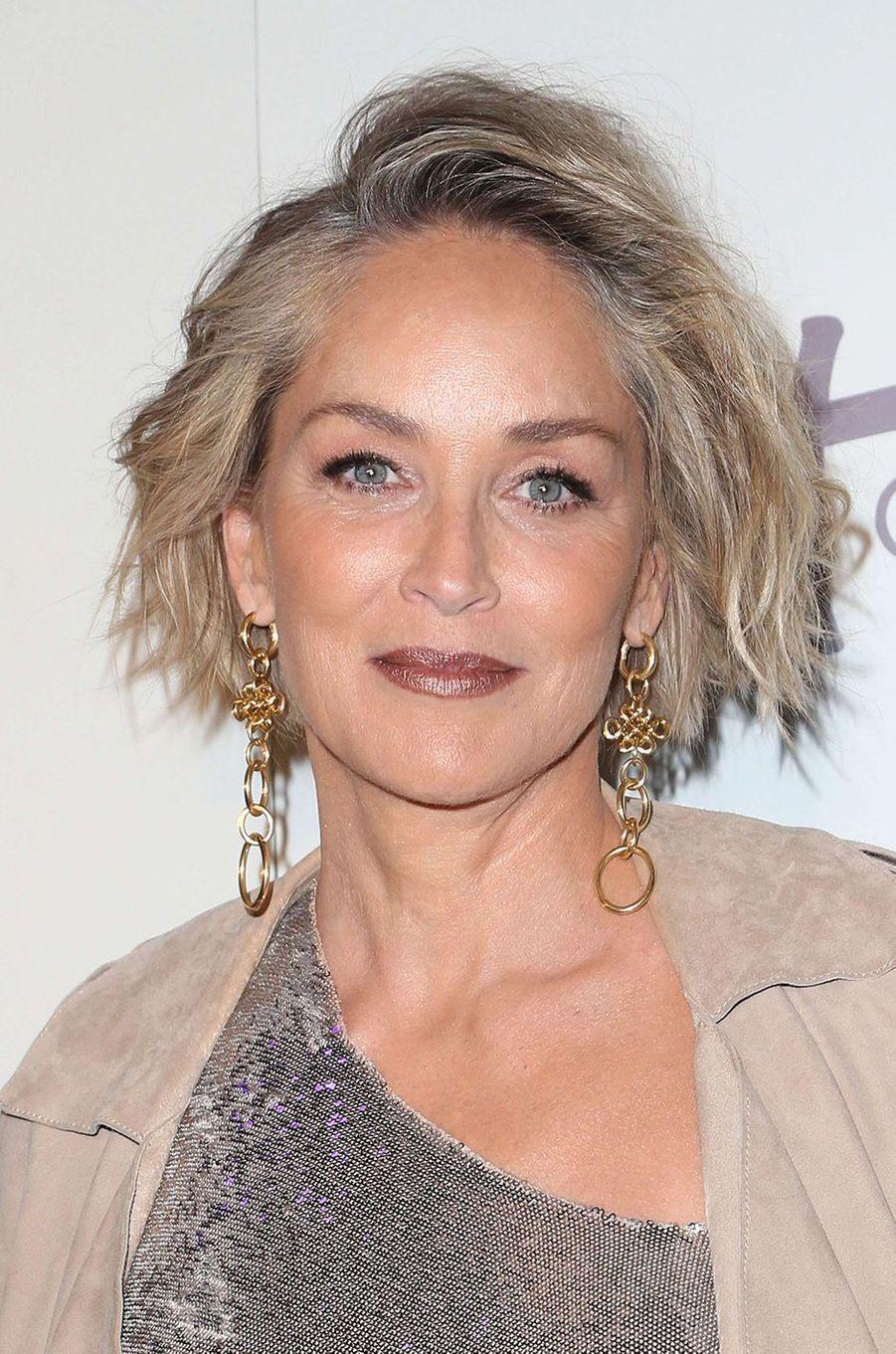 Sharon Stone, le 17 mai 2017.