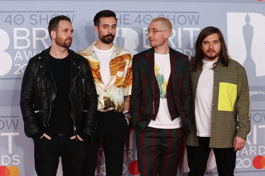 Bastilleaux Brit Awards à Londres le 18 février 2020