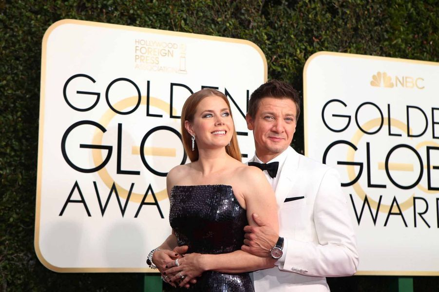 Amy Adams et Jeremy Renner