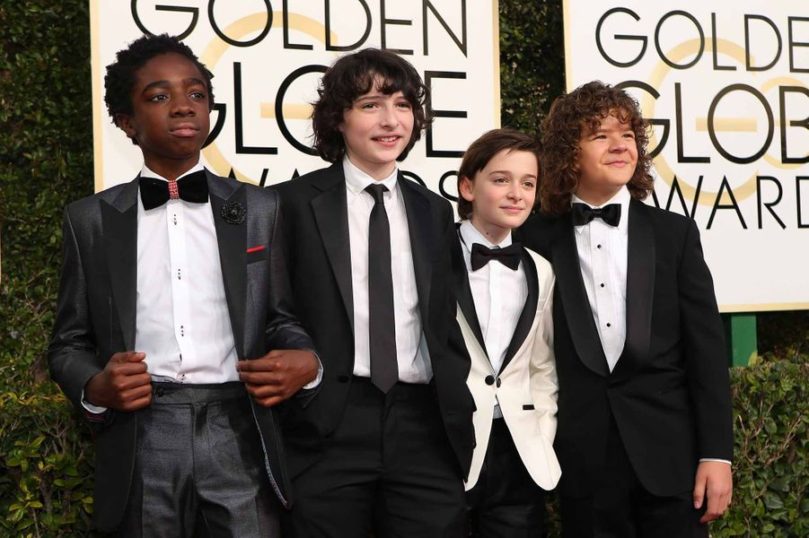 "Les enfants de ""Stranger Things"""