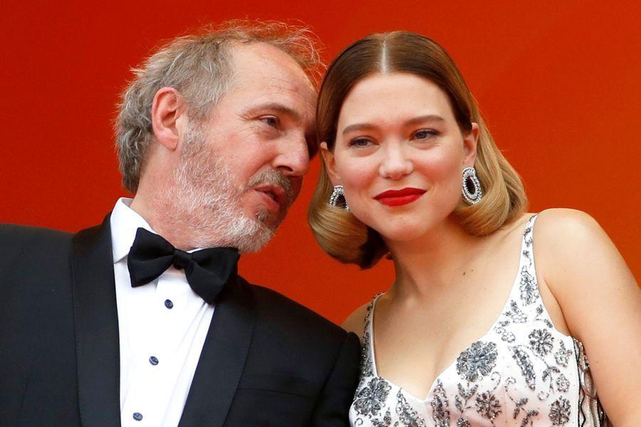 Léa Seydoux et Arnaud Desplechin.