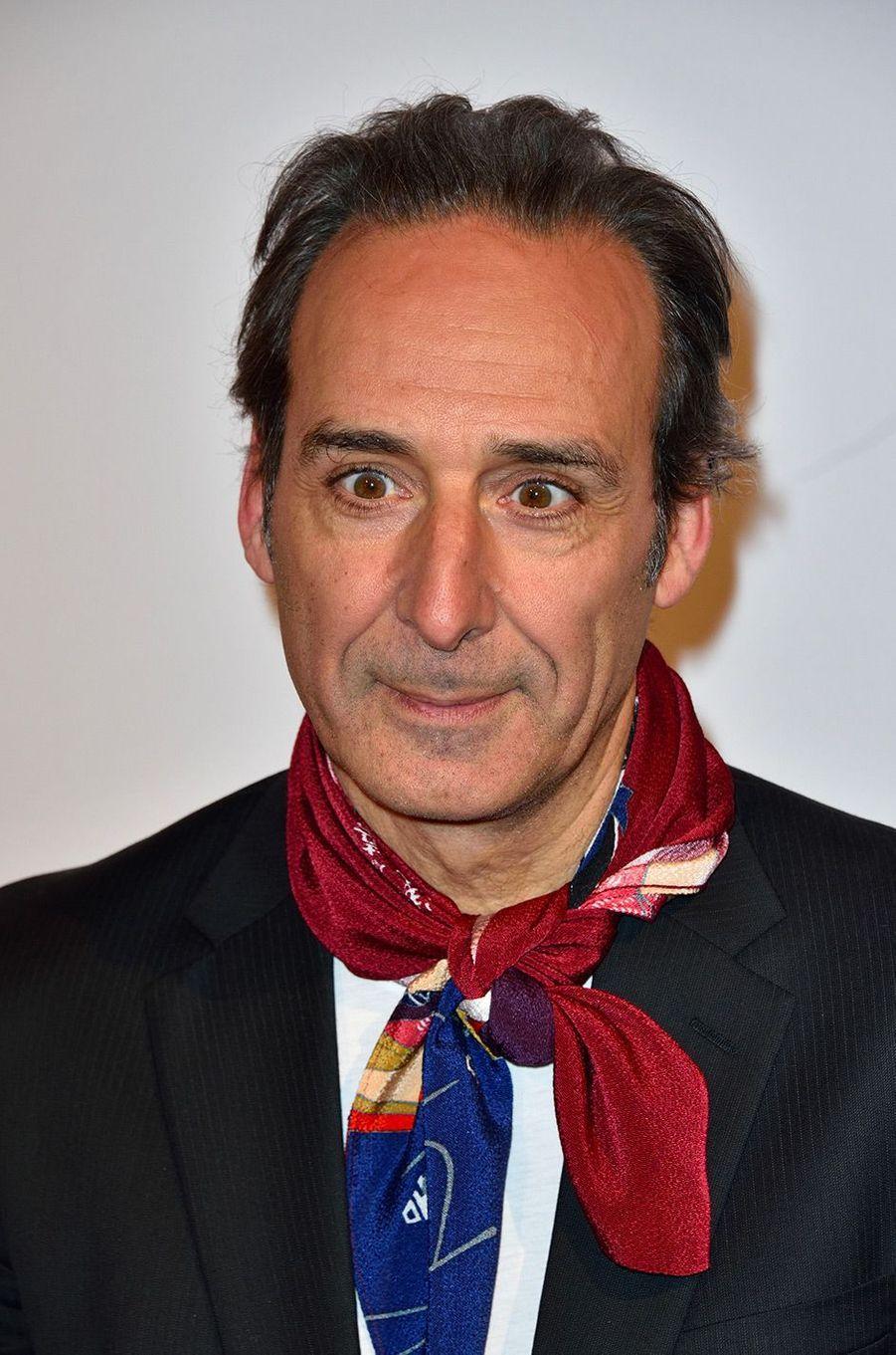 """Alexandre Desplat à l'avant-première de """"L'île aux chiens"""" à Paris"""