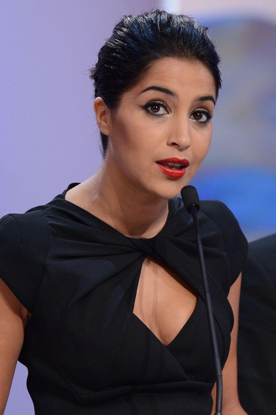 Leïla Bekhti lors de la cérémonie de clôture du 65ème Festival de Cannes.