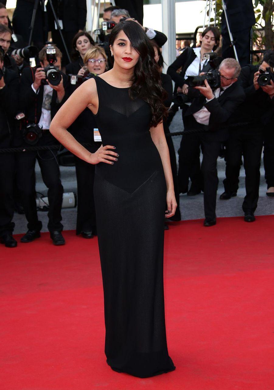 Leïla Bekhti au Festival de Cannes en mai 2018.