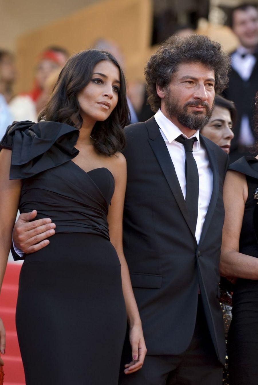 Leïla Bekhti et Radu Mihaileanu à Cannes en 2011.
