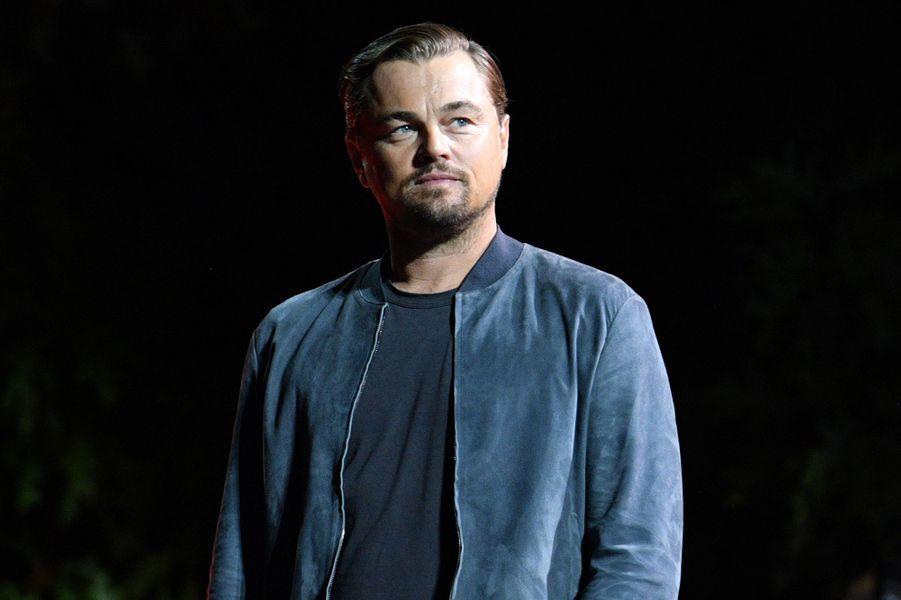 Leonardo DiCapriolors du Global Citizen Festival à New York le 28 septembre 2019