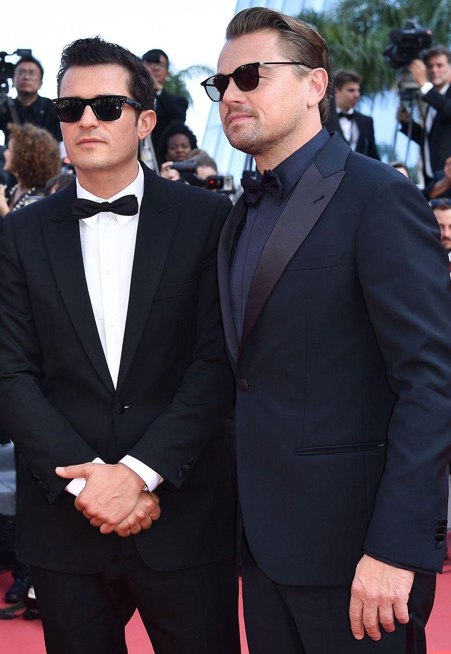Orlando Bloom et Leonardo DiCaprio à Cannes jeudi