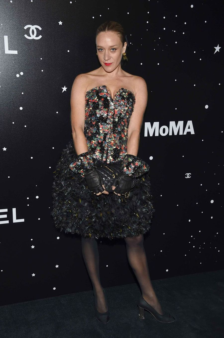 Chloë Sevigny au MoMA le 19 novembre 2018