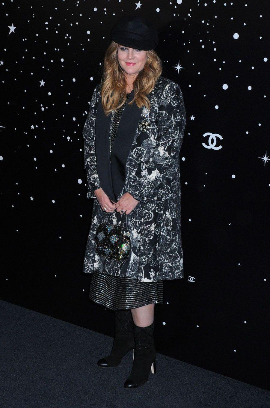 Drew Barrymore au MoMA le 19 novembre 2018