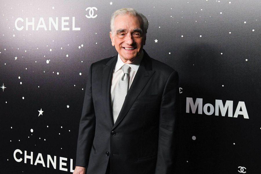 Martin Scorsese au MoMA le 19 novembre 2018
