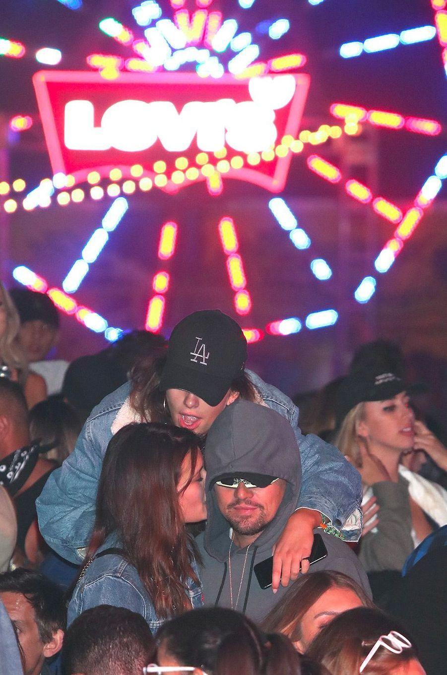 Leonardo DiCaprio à Coachella