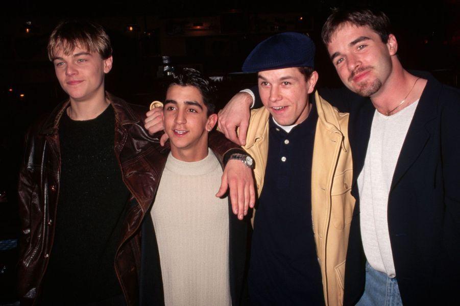 """Le casting de """"The Basketball Diaries"""" et Leonardo DiCaprio."""