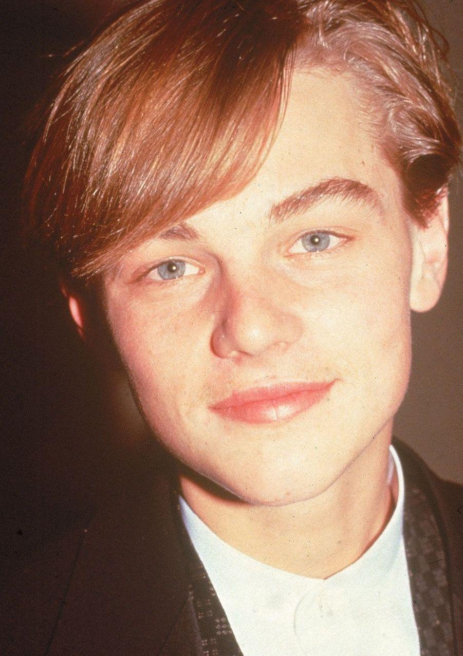 Leonardo DiCaprio en 1991.