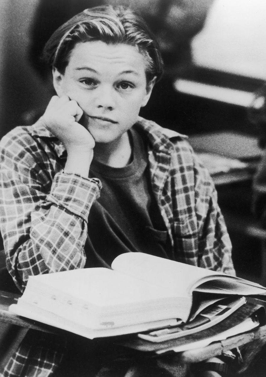 L'acteur Leonardo DiCaprio en 1991.