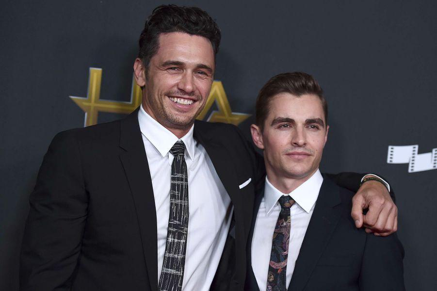 Les frères Franco, James et Dave (Beverly Hills, 5 novembre 2017)