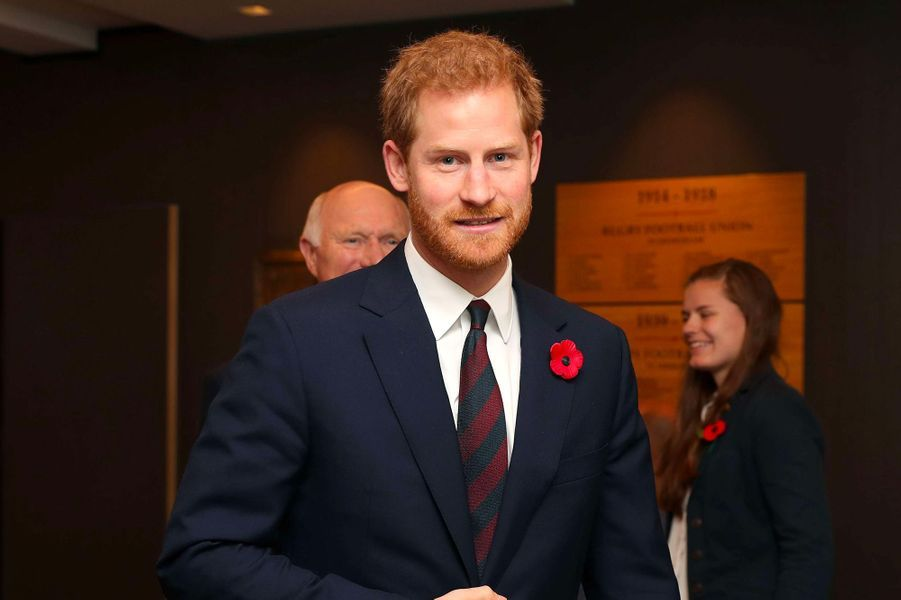 Prince Harry (Londres, 11 novembre 2017)