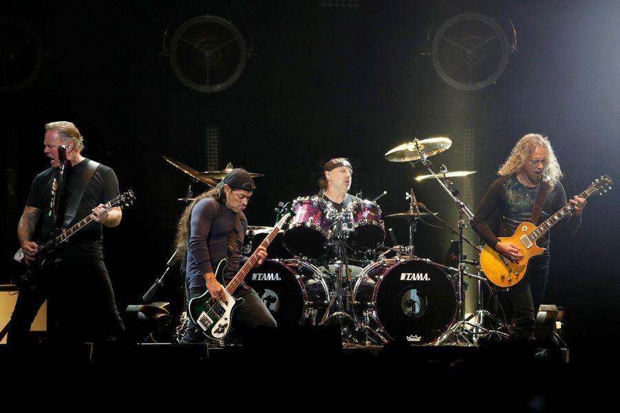 30 - Metallica, 68,5 millions de dollars