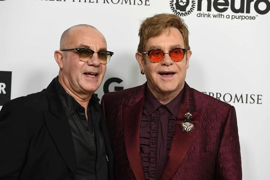 Bernie Taupin et Elton John
