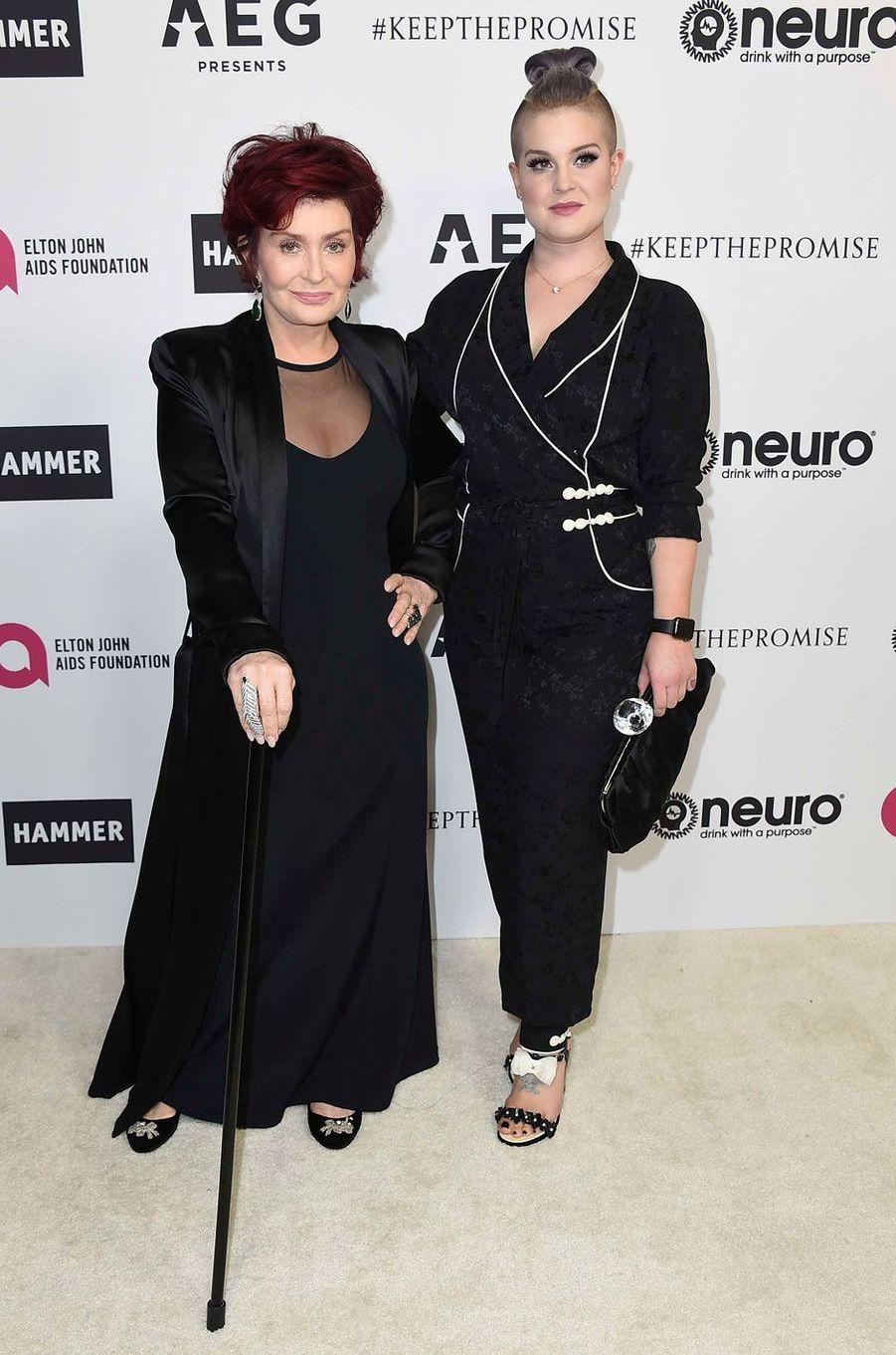 Sharon Easy et Kelly Osbourne