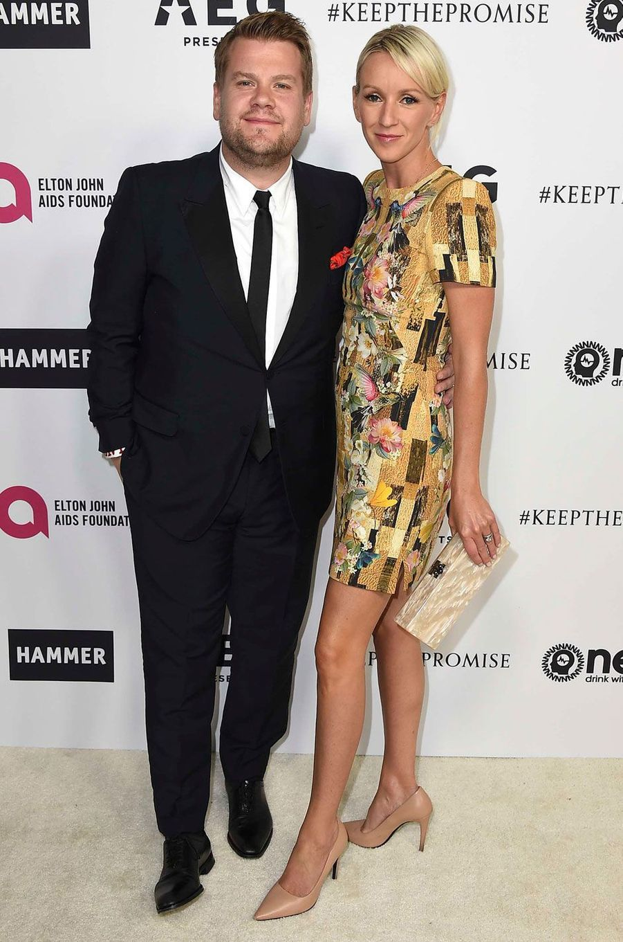 James Corden et sa femme