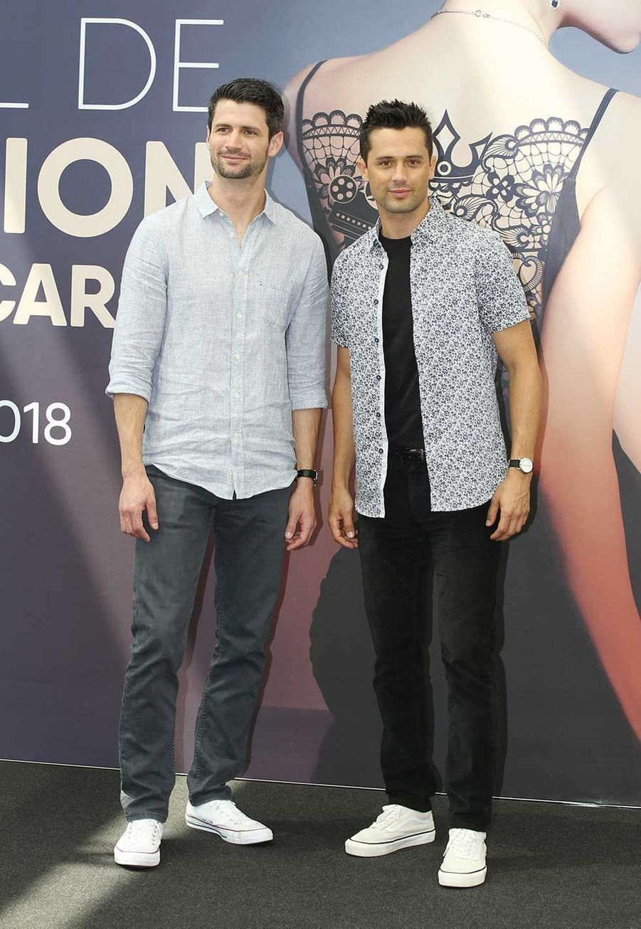 James Lafferty, Stephen Colletti dimanche au festival de télévision de Monte-Carlo