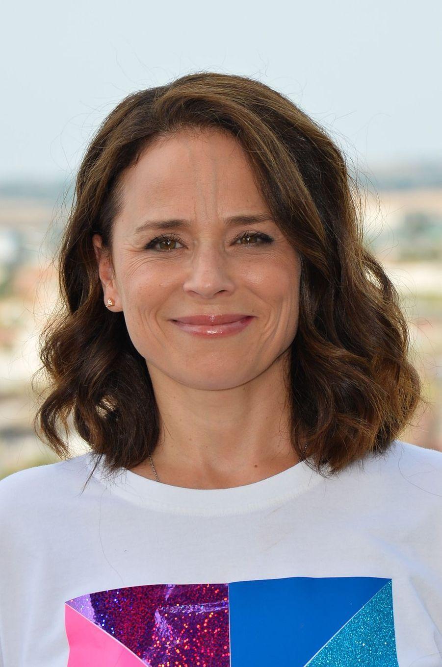 Suzanne Clémentau festival du film francophone d'Angoulême, le 24 août 2017.