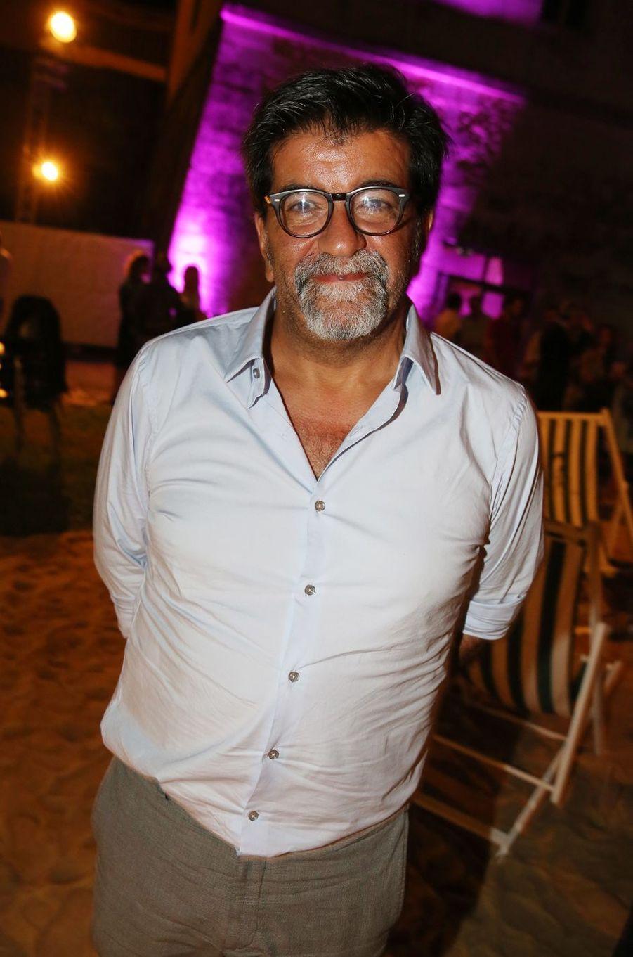 Alain Attalau festival du film francophone d'Angoulême, le 24 août 2017.