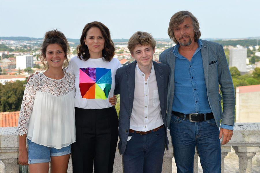 Suzanne Clément, Pascal Demolon, Igor Van Dessel et une invitée.